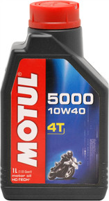 Motul HC Tech 5000 10W40 4T Semi-Synthetic Oil 1 Litre