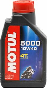 Motul HC Tech 5000 10W40 4T Semi-Synthetic Oil 1 Litre