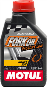 Motul Factory Line Light 5W Fork Oil 1 Litre