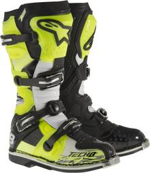 Alpinestars Tech-8 RS Boots Flo Yellow/Black/White