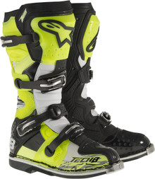 Alpinestars Tech-8 RS Boots Flo Yellow/Black/White