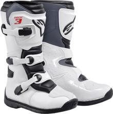 Alpinestars Tech-3S Youth Boots White