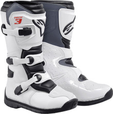 Alpinestars Tech-3S Youth Boots White