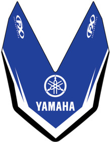 Factory Effex Front Fender Decals Yamaha