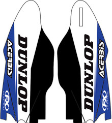 Factory Effex Sponsor Lower Fork Decals Yamaha