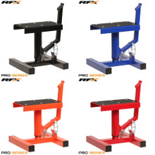 Race FX Pro Series Single Pillar Lift Up Bike Stand