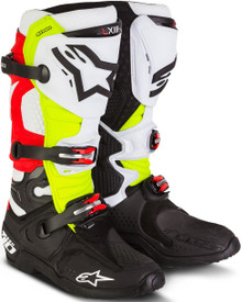 2015 Alpinestars Tech 10 Boot Trey Canard LE Black/White/Red/Yellow