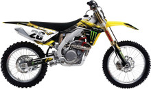 2015 Factory Effex Monster Series Graphics Kit Suzuki