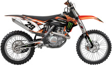 2015 Factory Effex Monster Series Graphics Kit KTM