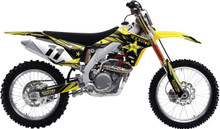 2015 Factory Effex Rockstar Series Graphics Kit Suzuki