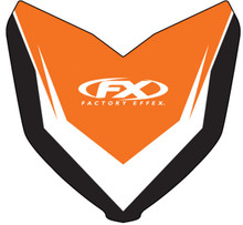 Factory Effex Front Fender Graphics KTM