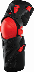 Thor Force XP Knee Guards S16 Black/Red