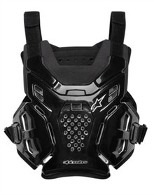 Alpinestars A6 Chest Protector/Body Armour Black One Size