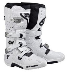 Alpinestars Tech 7 Boots White