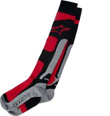 Alpinestars Tech Coolmax Socks Red/BlackGrey