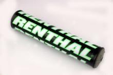 """Renthal Mini SX Bar Pad 8.5"""" Black/White/Green"""