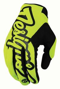 2017 Troy Lee Designs SE Pro Gloves Flo Yellow