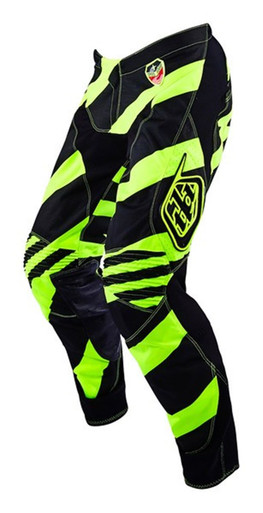 2016 Troy Lee Designs SE Pants Caution Flo Yellow/Black