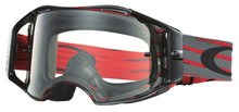 Oakley Airbrake Goggles Nemesis Red/Gunmetal With Clear Lens