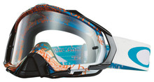 Oakley Mayhem Pro Goggles Tagline Blue/Orange