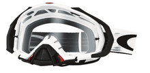 Oakley Mayhem Pro Goggles Matte White Speed