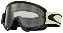 Oakley O Frame Goggles Animalistic Black/White With Clear Lens