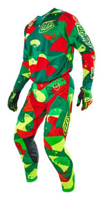2016 Troy Lee Designs Combo SE Air Cosmic Camo Gree