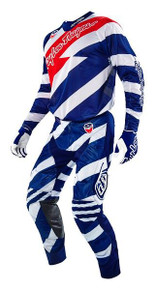 2016 Troy Lee Designs Combo SE Air Caution White/Navy