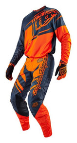 2016 Troy Lee Designs Youth Combo GP Flexion Orange/Grey