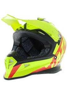 Lazer X8 Whip Helmet Flou/Black/Red