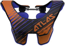 2015 Atlas Air Neck Brace Orange Tornado