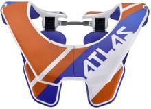 2015 Atlas Youth Prodigy Neck Brace Orange Slant One Size