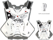 2015 Atlas Body Armour Defender Body Protector Digital Arctic Adult One Size