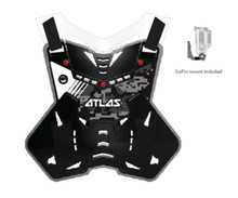 2015 Atlas Defender Lite Body Protector Digital Steath Adult One Size