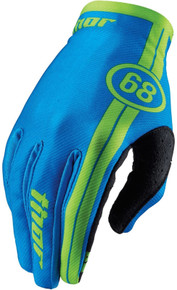 2016 Thor Void Youth Gloves Course Blue