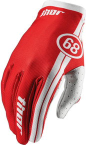 2016 Thor Void Youth Gloves Course Red
