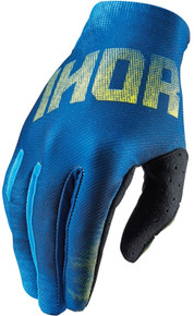 2016 Thor Void Youth Gloves Blend Blue/Yellow