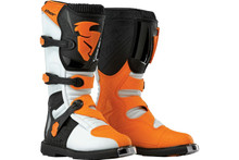2016 Thor Blitz Boots White/Orange