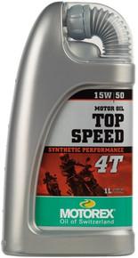 MOTOREX TOP SPEED SYN 4T 15/50 1 Litre