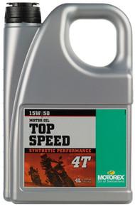 MOTOREX TOP SPEED SYN 4T 15/50 4 Litre