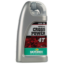 Motorex Crosspower Fully Synthetic Engine Oil 4T 10/50 1 Litre
