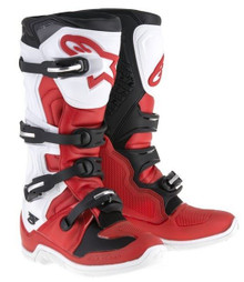 2015 Alpinestars Tech 5 Boots Red/Black/White