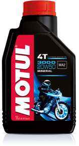 Motul 3000 Series 20W50 4T mineral oil 1 litres