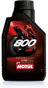 Motul Factory Line 800 2T Road-Race oil 1 litre