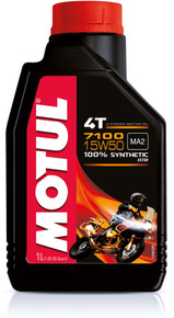 Motul Fully synthetic 7100 15W50 4T oil 4 litres