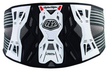 Troy Lee Designs/Shock Doctor KB3305 Adult Kidney Belt White