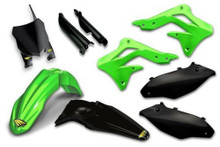 Cycra Full Body Plastics Kit Kawasaki KXF250 13-16 Green/Black
