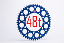 Renthal 121/428 48T/Tooth Rear Sprocket Blue Yamaha YZ85/Suzuki RM85