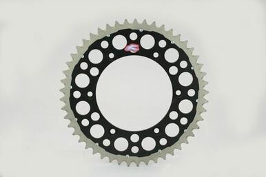 Renthal 123/520 49T/Tooth Twinring Rear/Back Sprocket Black Suzuki RM/RMZ