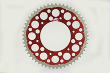 Renthal 150/520 51T/Tooth Rear Twinring Sprocket Red Honda CR/CRF